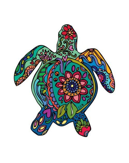 Granny always believed that drawing an Indian Rain Turtle in the sand would make it rain ;)