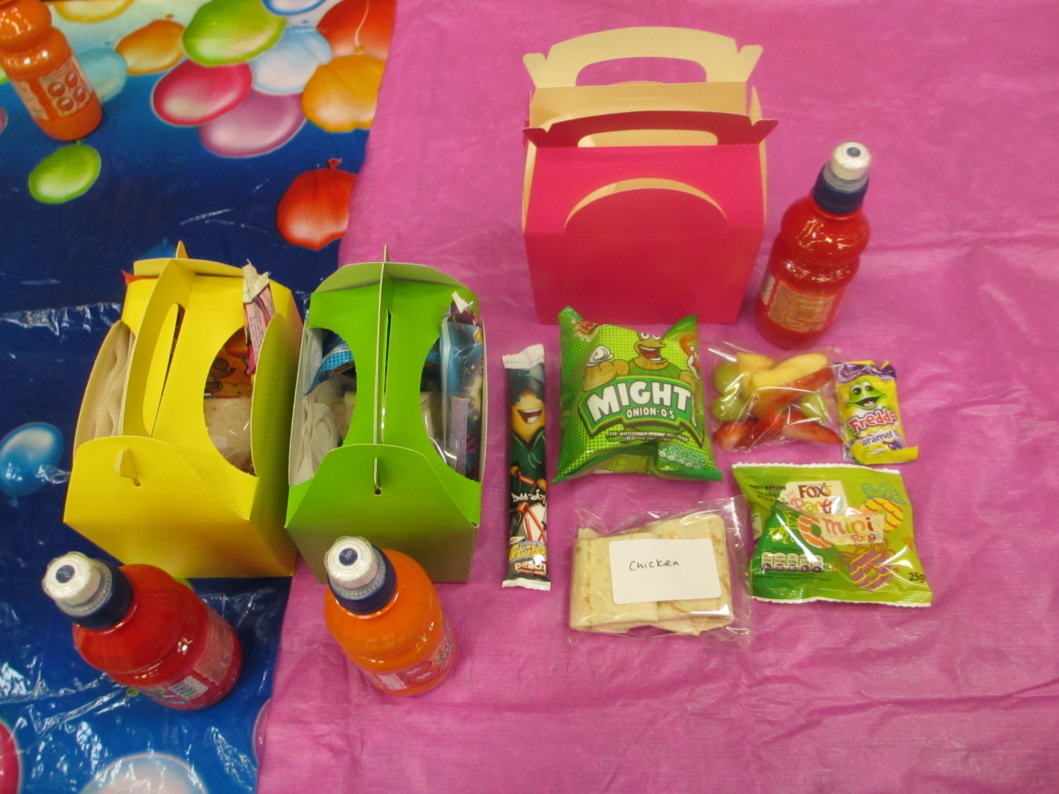 Party Food Box Ideas For Party Food Easy Party Food Kids
