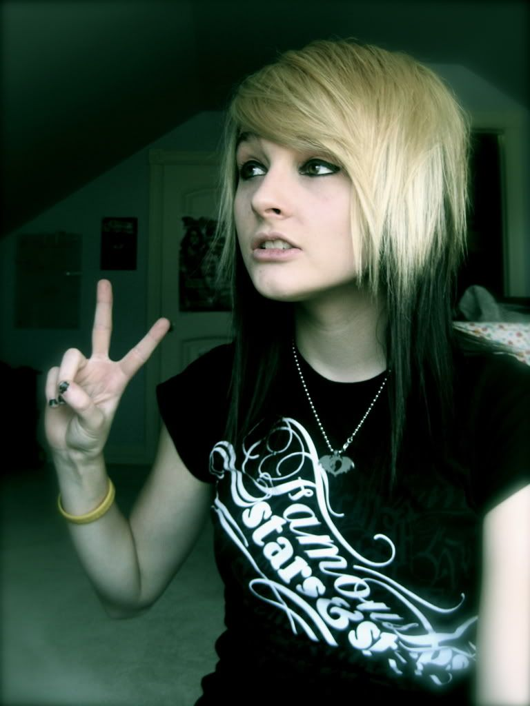 Outstanding 1000 Images About Punk Hair Styles On Pinterest Emo Hairstyles Short Hairstyles Gunalazisus