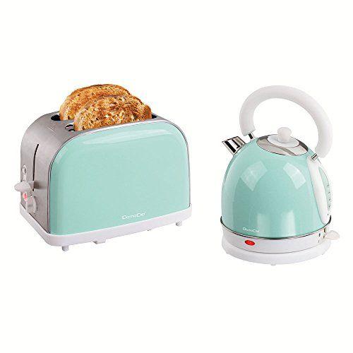 Toaster und #Wasserkocher im #Retro Look   Lovely Kitchen   Pinterest