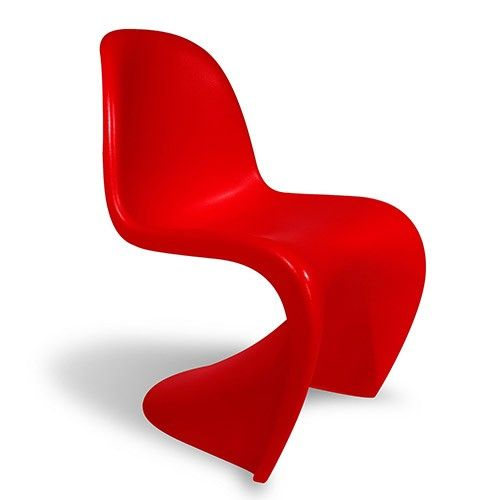 S Chair Replica Acrylic Chairs For Sale Junior Panton Reproduction Red Boys Rooms Pinterest