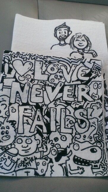 Our love will never fail