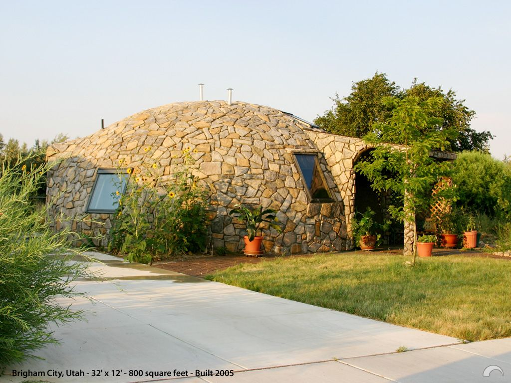 Brigham City Utah This Small Monolithic Dome Home With