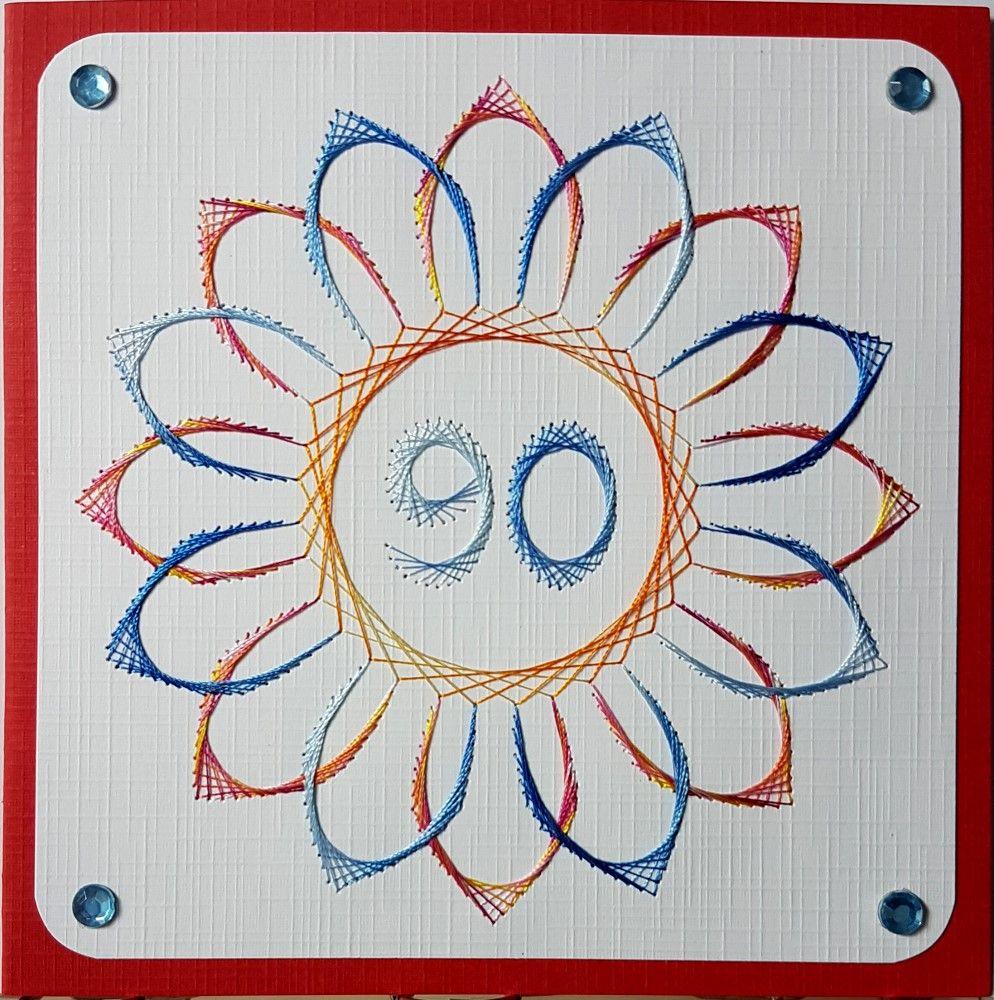 Geburtstagskarte Zum 90 Geburtstag Der Oma Eines Freundes Motiv
