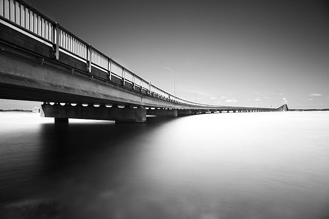 I like the leading line composition and the contrasts of black and ...