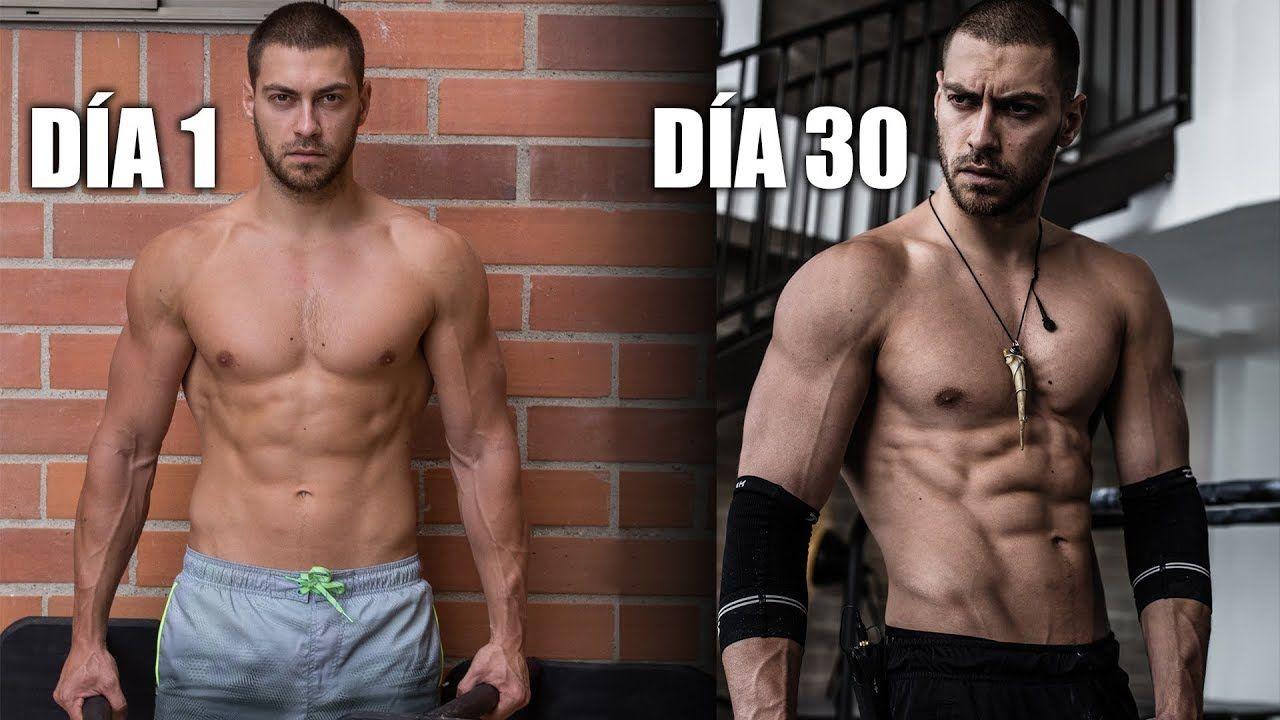 como ganar masa muscular en 30 dias