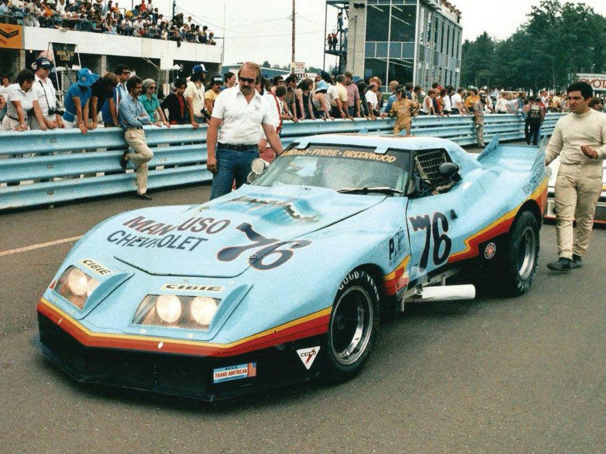 Greenwood Auto Sales >> Mancuso / Greenwood goes to grid   Corvette's C3 ...