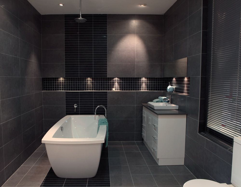 grey tile floor bathroom book of charcoal grey bathroom tiles in canada by 18617
