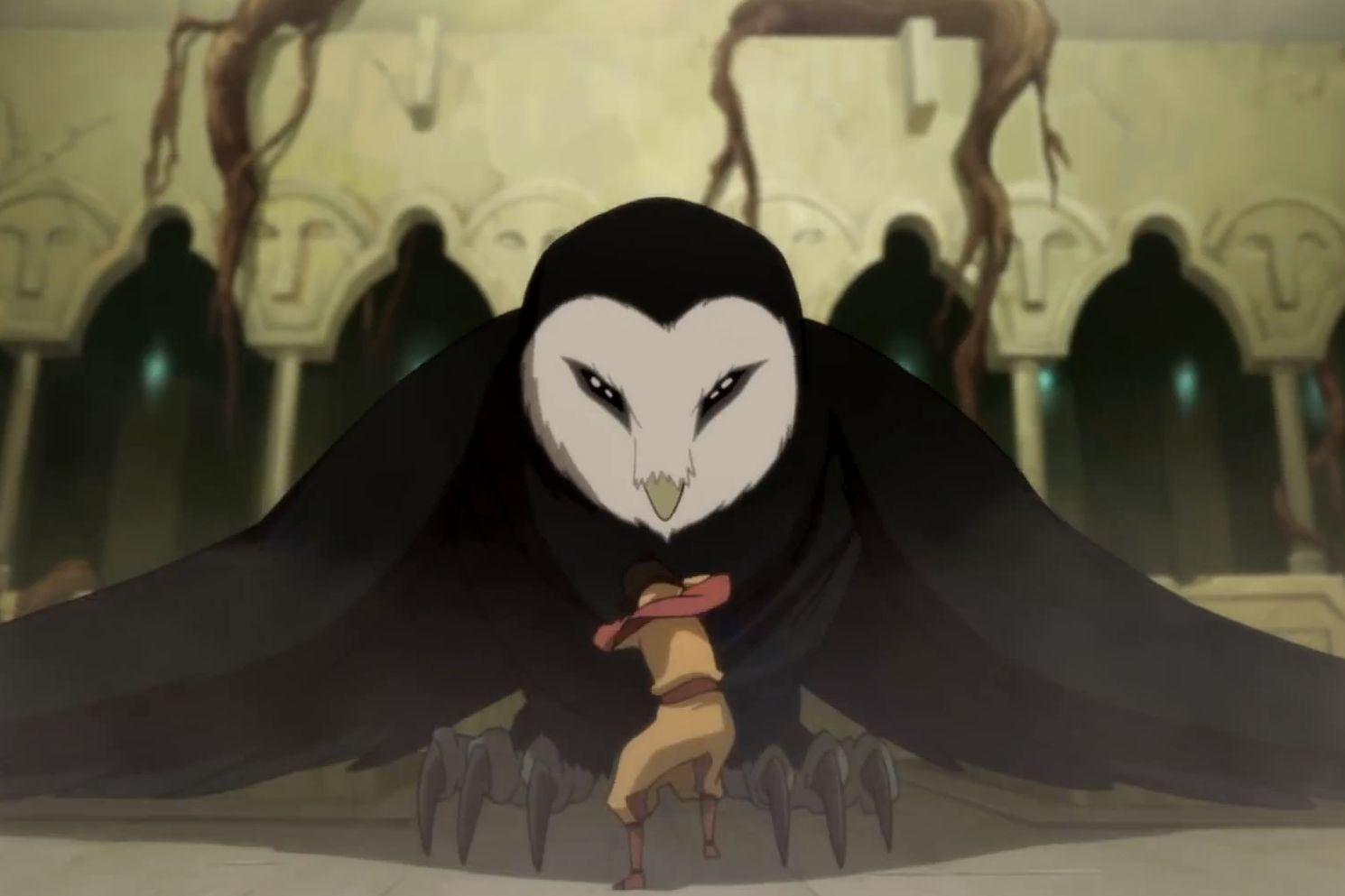 avatar the last airbender owl - Google Search | Horror Genre