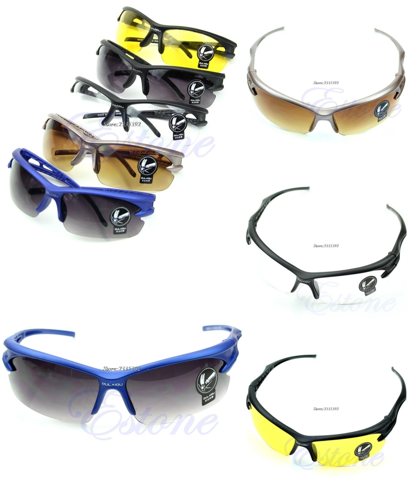 bf6814f566a3  Visit to Buy  Outdoor Sports Driving Fishing Cycling Running UV400  Sunglasses Eyewear Glasses