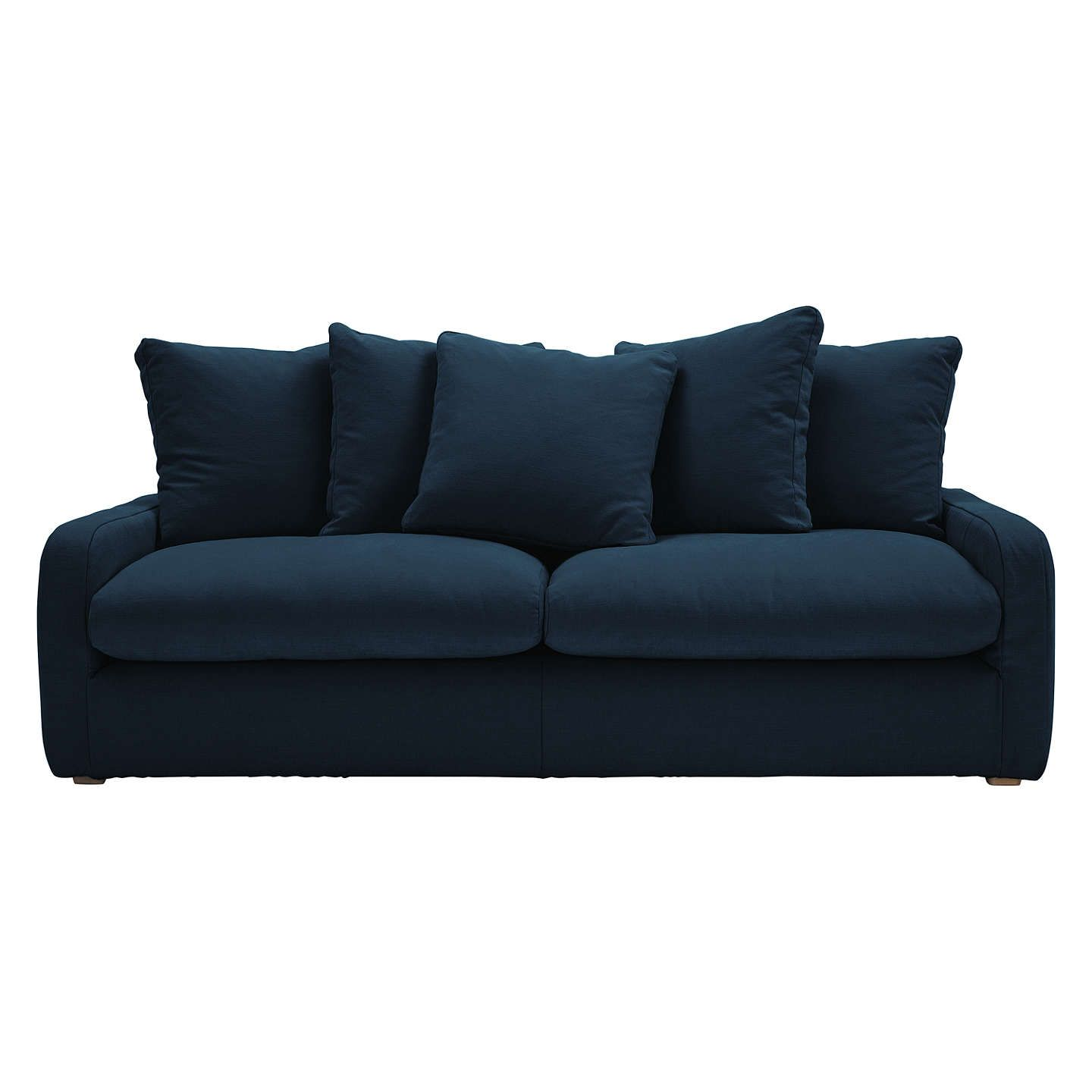 Floppy Jo 3 Seater Sofa by Loaf at John Lewis Brushed Cotton