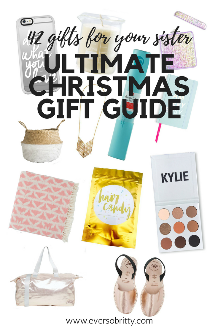 42 Things to Get Your Sister for CHRISTMAS – Ultimate 2017 Gift ...