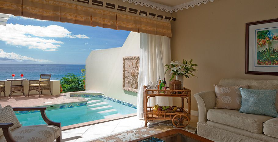 Sunset Bluff Oceanfront Two Story One Bedroom Butler Villa Suite With Private Pool 530 Pp Pn