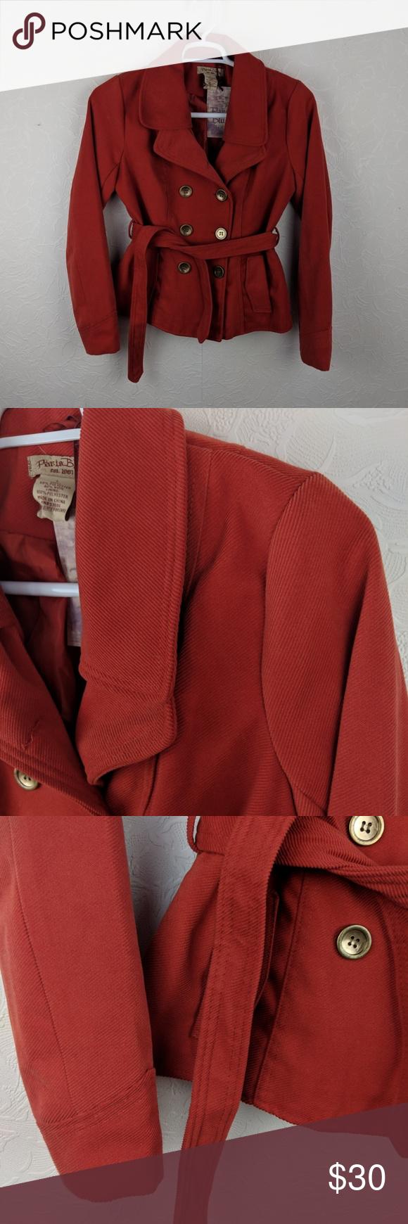 Paris Blues Juniors Wool Blend Corduroy Peacoat Paris Blues Juniors Wool Blend Tied Corduroy Peacoat Coat New With Paris Blues Clothes Design Fashion Design [ 1740 x 580 Pixel ]
