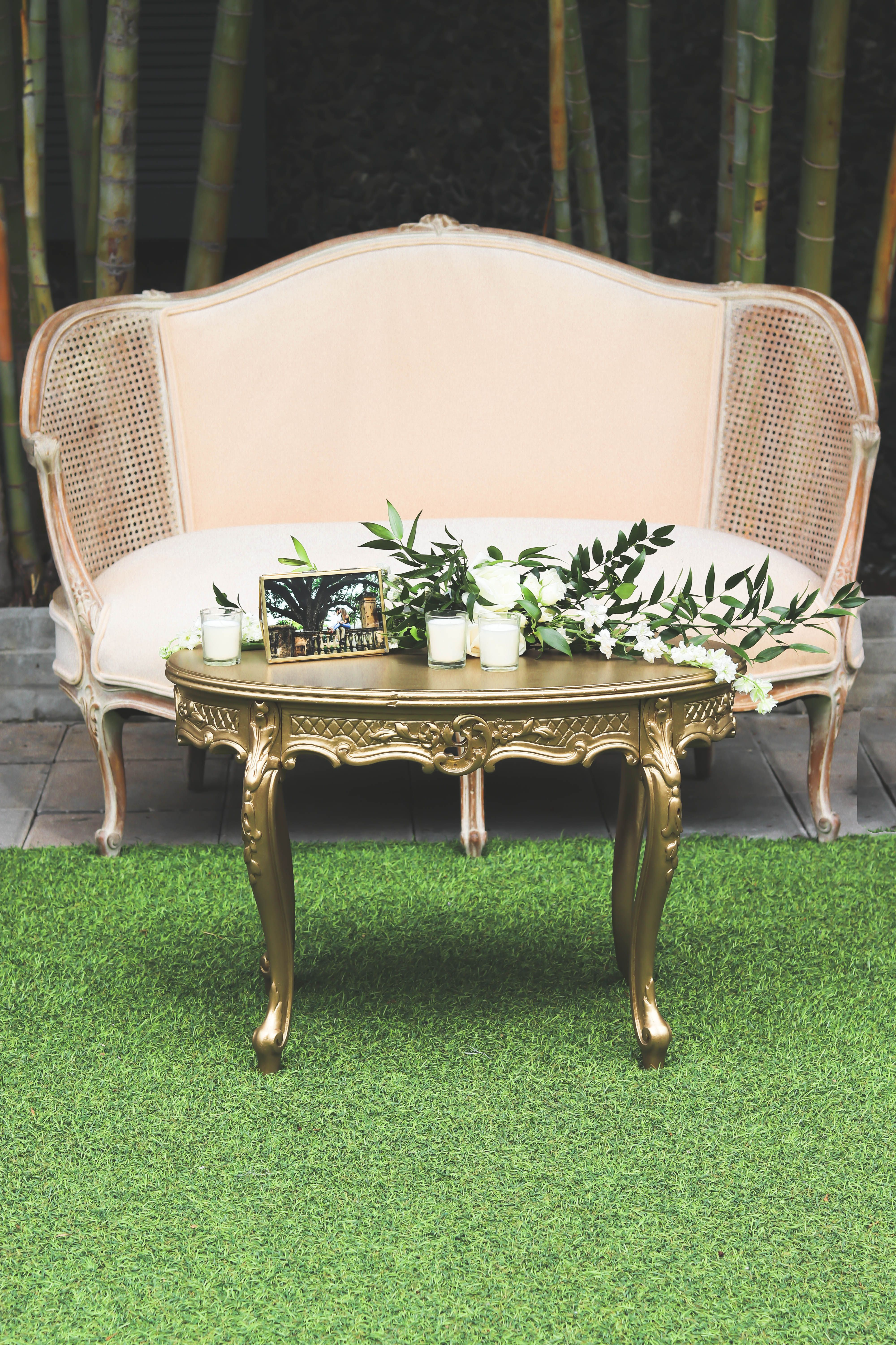 Our Mindy Coffee Table is perfect for an elegant vintage