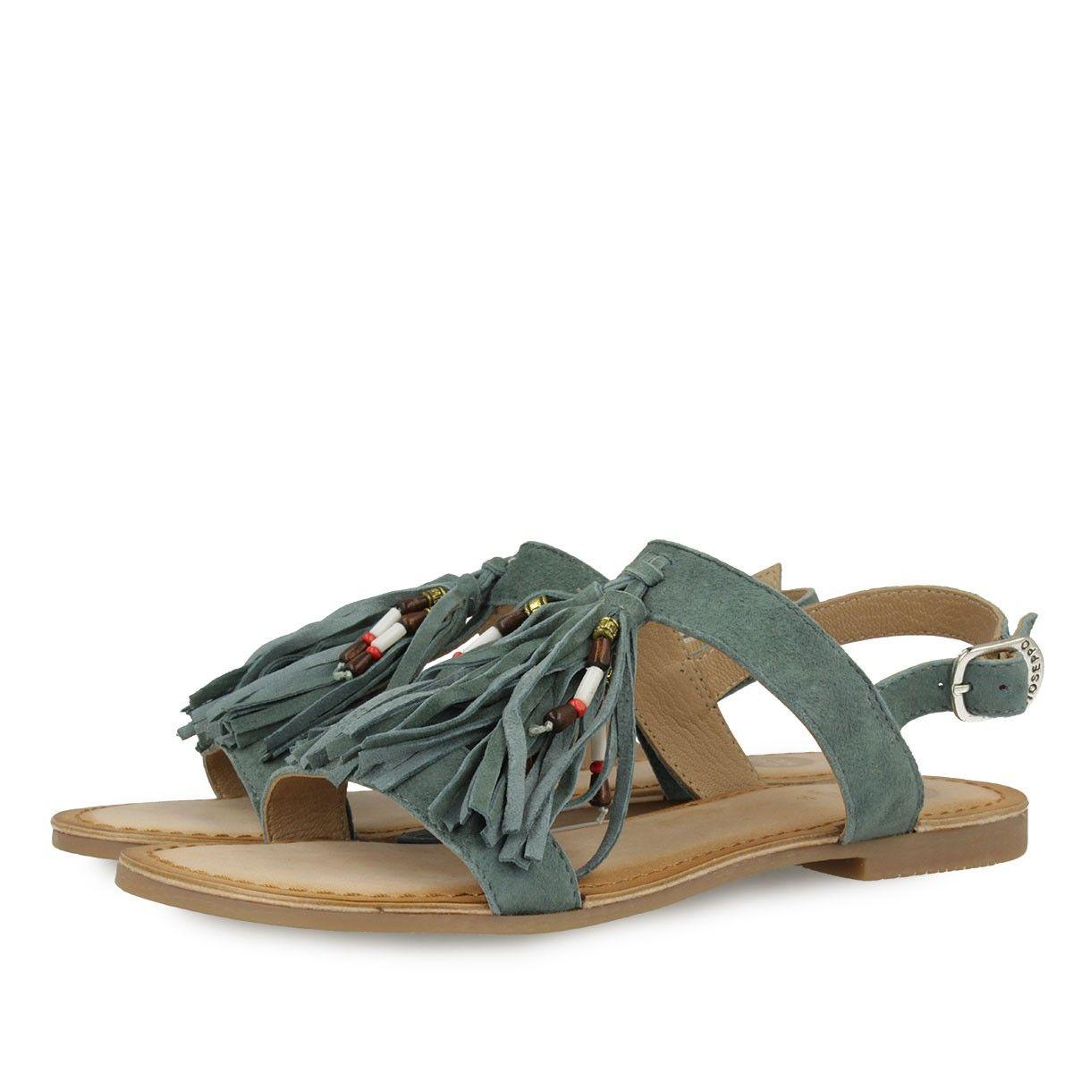 Zapatos azules Gioseppo Chitae para mujer FEnkjhgIJG
