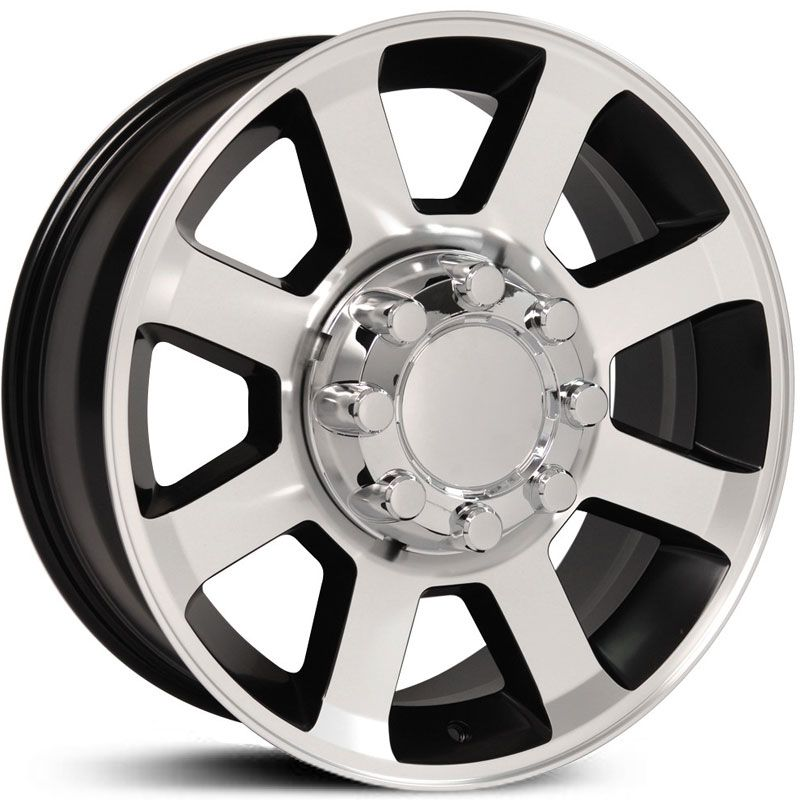 Fits Ford F 250 F 350 Style Fr78 Wheels Satin Black Machined Face Wheel Wheel Rims Oem Wheels