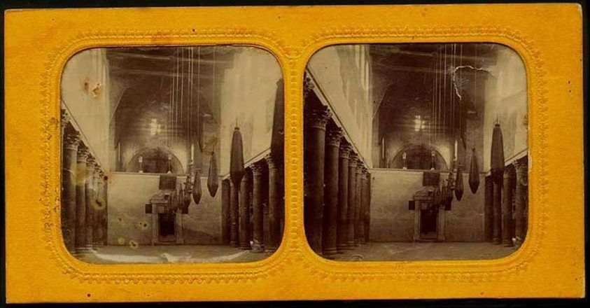 Old stereophotography