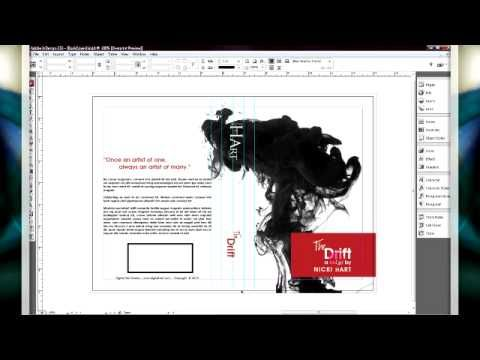 In Design Tutorial Book Cover Design Book Design Graphic Design Typography Poster