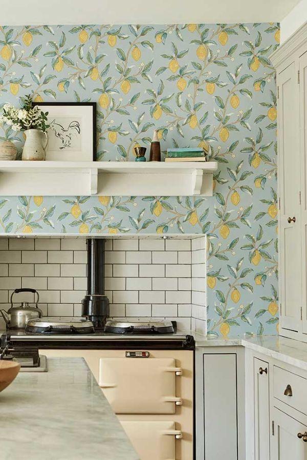 Lemon Tree by Morris Wedgewood Wallpaper 216674 in