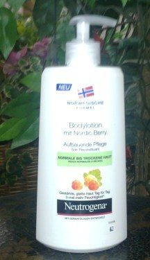 neutrogena bodylotion nordic berry