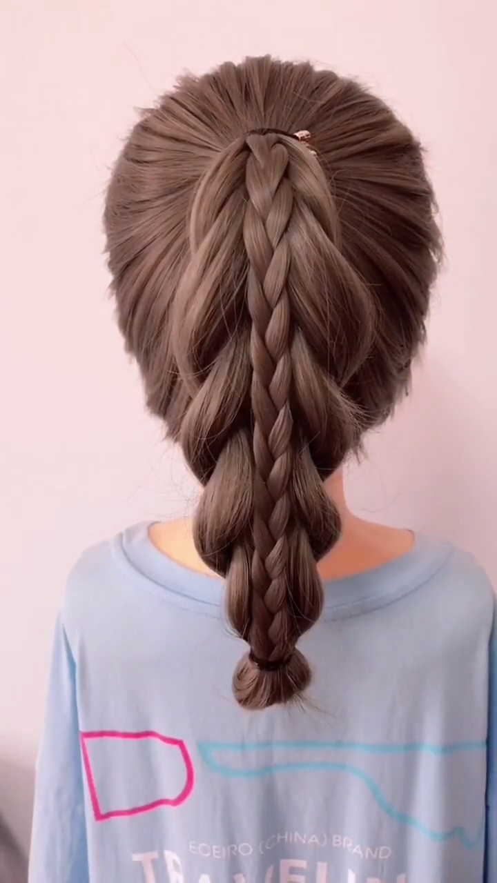 Frisur Tutorials für lange in 11  Hair styles, Easy hairstyle