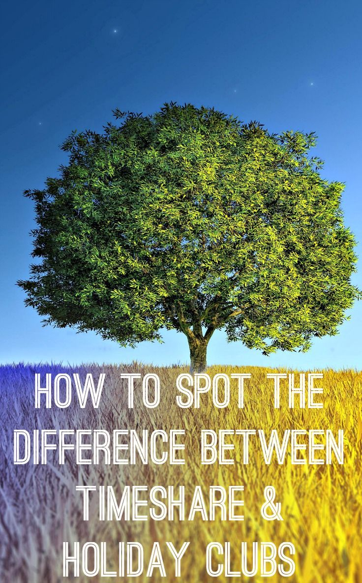 Timeshare v Holiday Clubs: spot the difference | Holiday ...