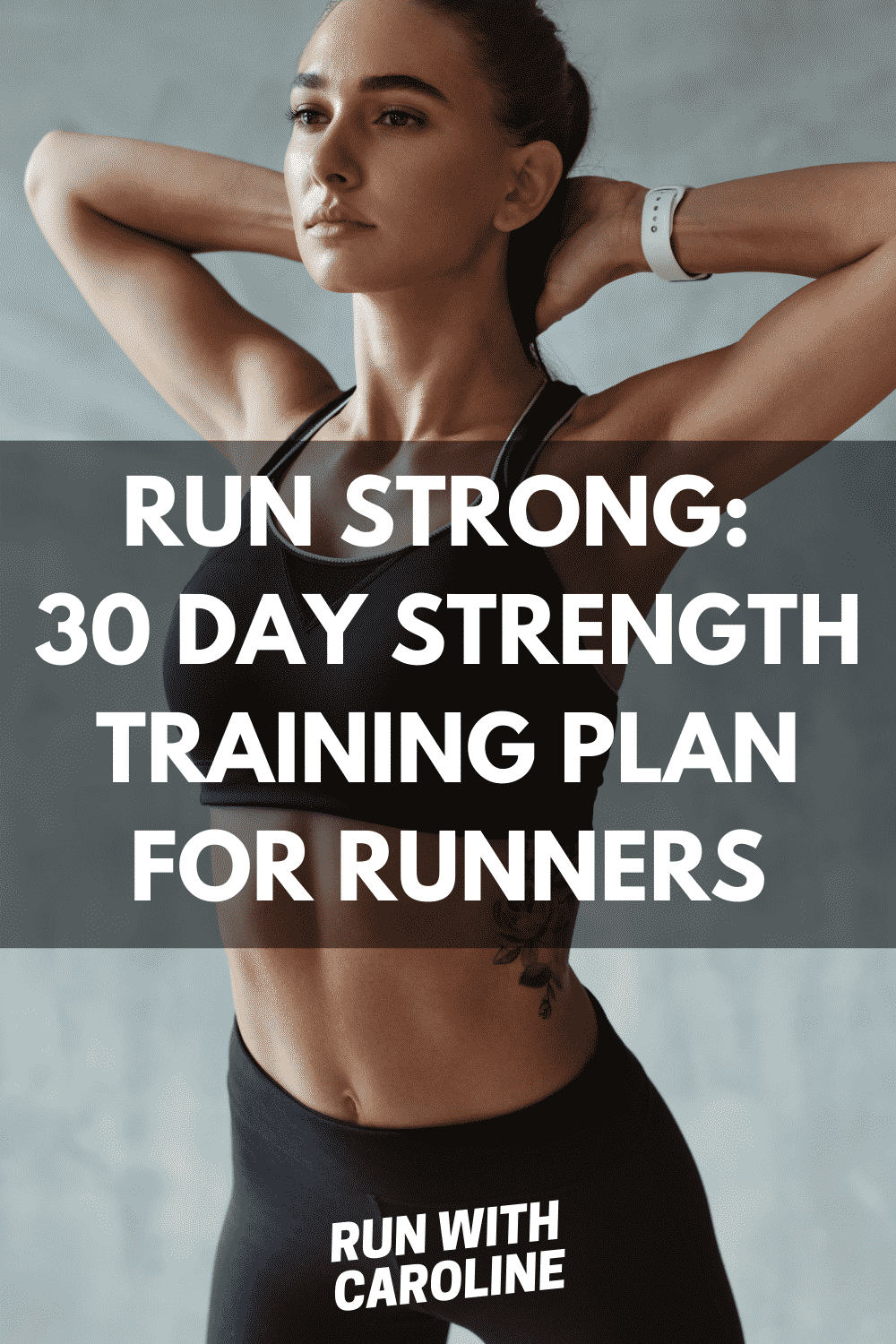 Run strong: 30 day strength training plan for runners