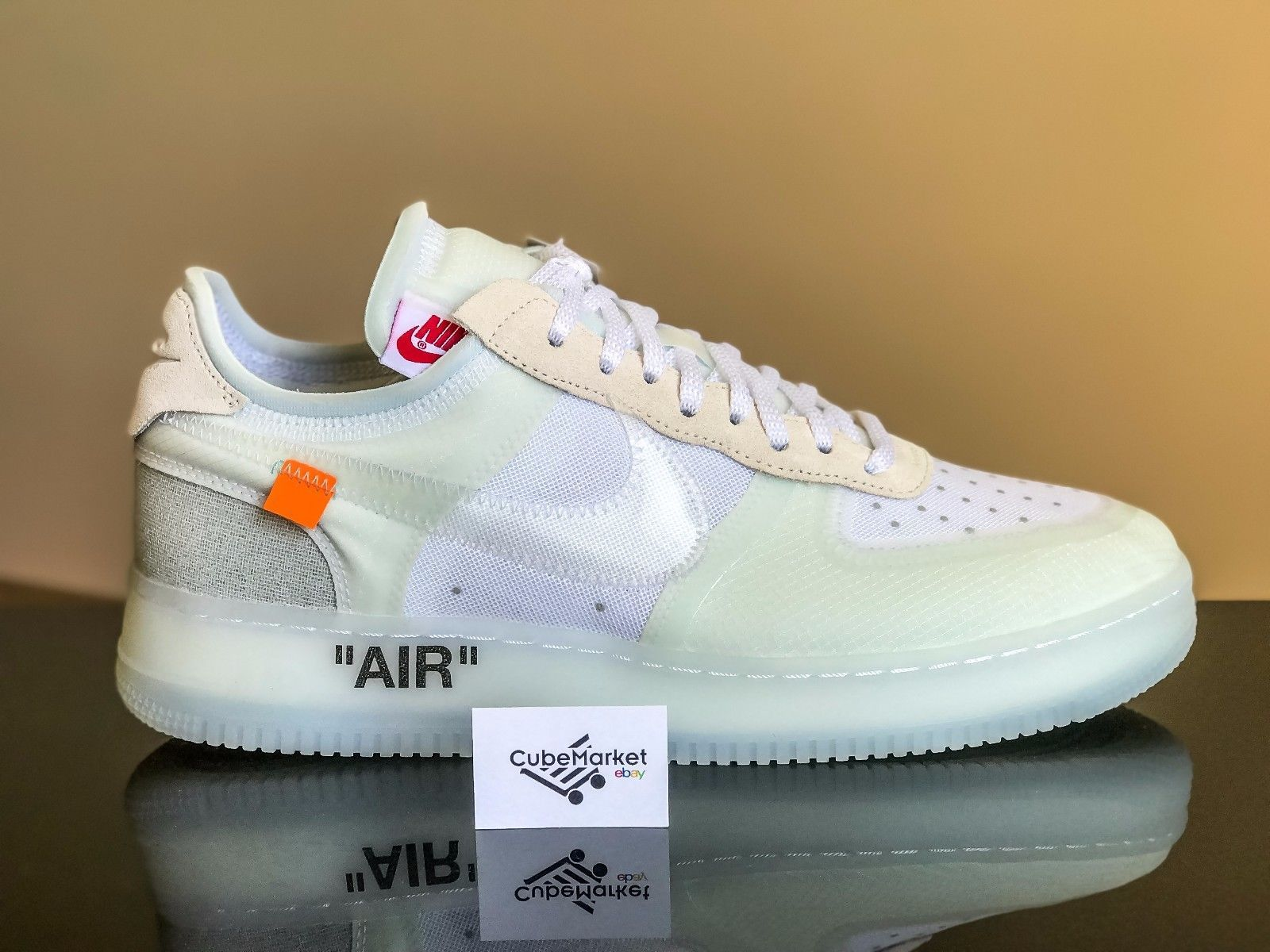 The 10 Nike Air Force 1 Off White Af1 Presto Virgil Abloh Ao4606 100 Size 11 5 Nike Air Force White Sneaker Nike