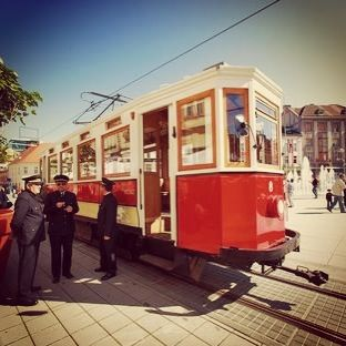 Old Historic Tram Dating From 1928 In City Of Osijek It Circulates Through The City Only For National Holidays Osijek City Historical