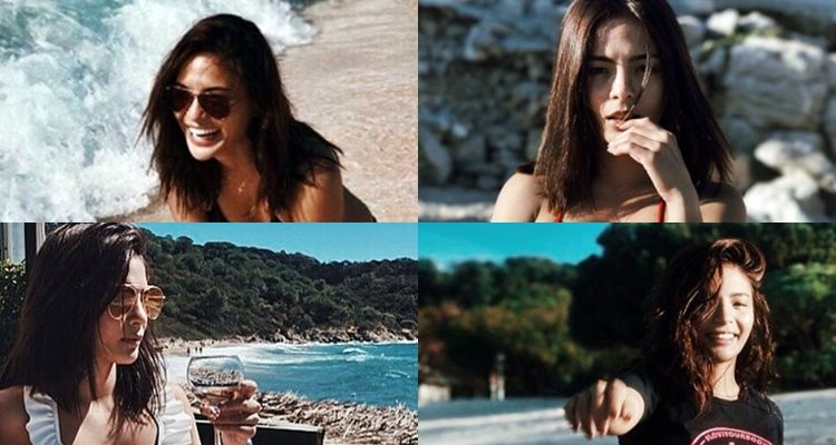 Here Is A Collection Of Picture Perfect Beach Photos Of Lovi Poe Which Proves That Even On The Beach She Is Still Fashionab Beach Photos Photo Picture Perfect