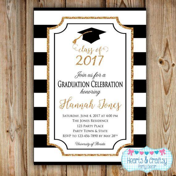 Graduation Party Invitation College Graduation Invitation
