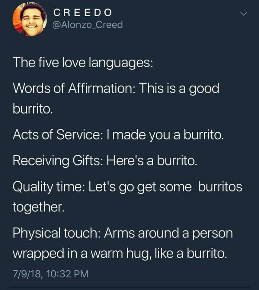 31 Weird And Hilarious Tweets To Goof Up Your Day Words Of Affirmation Love Languages Five Love Languages