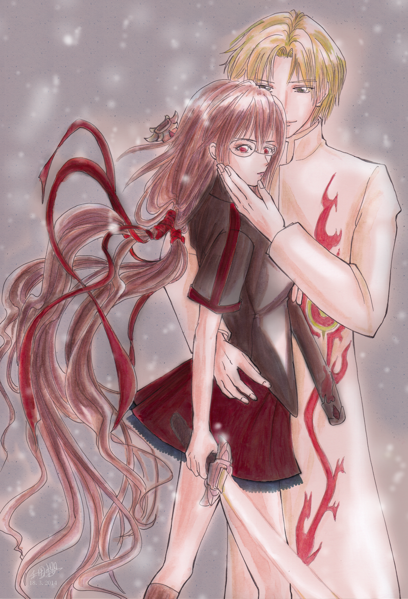 bloodc by on DeviantArt アニメ