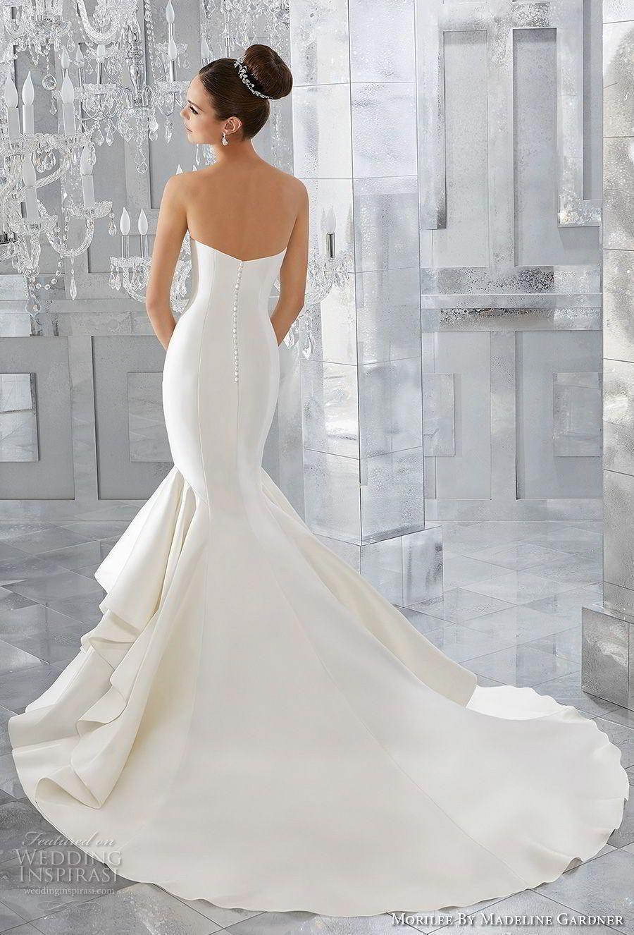 morilee fall 2017 blu bridal strapless sweetheart neckline