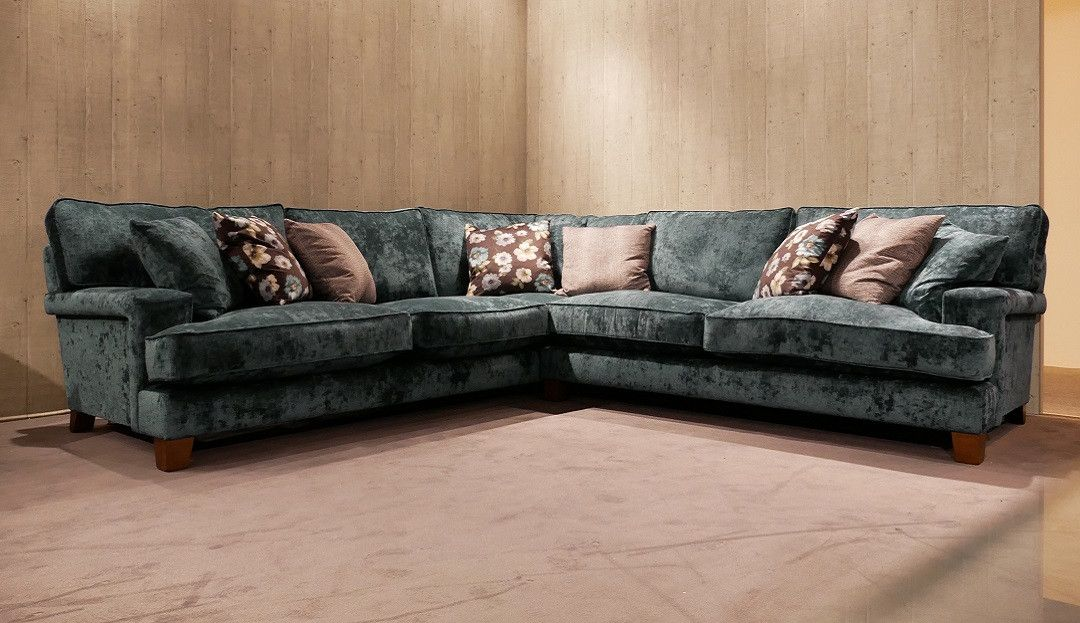 The Delamere Corner Sofa Is Inspired By Pieces From 50s And Offers Something Completely Diffe