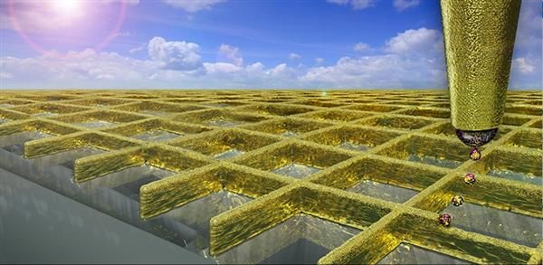 Gold and silver 3D printed nanowalls could make touchscreens cheaper and better | Using gold or silver nanoparticles, a team of researchers from ETH Zurich have developed a novel, cost efficient method for 3D printing ultra-thin 'nanowalls' that could improve the performance of the touchscreens used in our smartphones and other devices. [3D Printing: http://futuristicnews.com/tag/3d-printing/ 3D Printers: http://futuristicshop.com/category/3d-printers/]