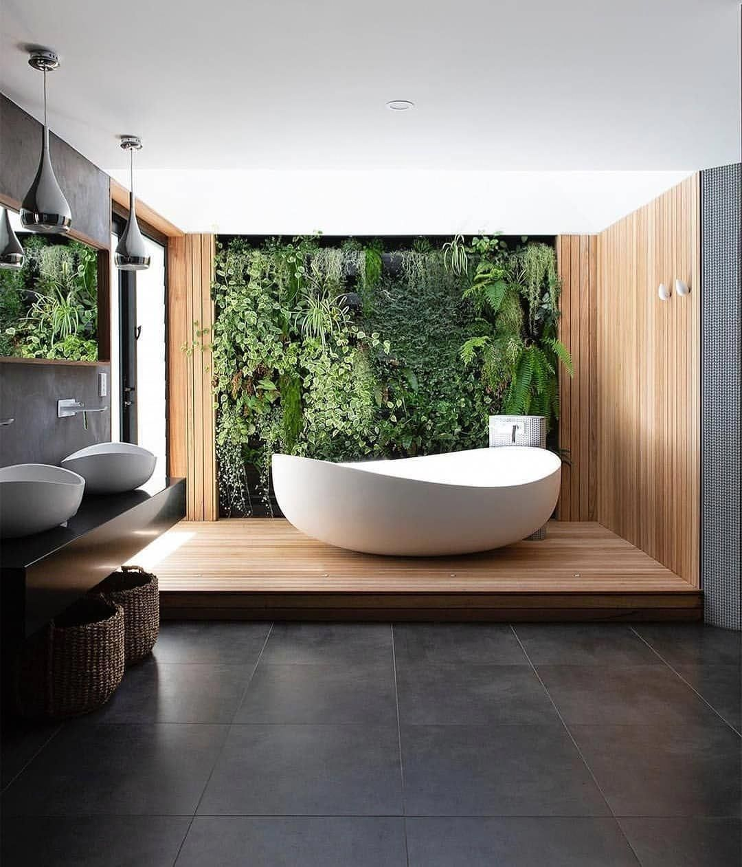 "Photo of Architectural Buzzer on Instagram: ""#ArchBuzzer Master bathroom of Byron Bay H…"