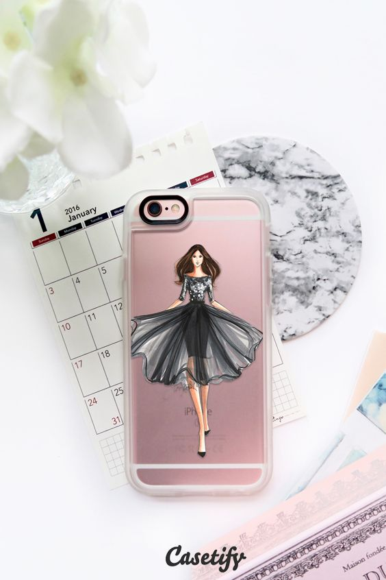 Fashion is an art and you are the canvas! Click through to see more iPhone 6 phone case designs by H. Nichols Illustration >>> https://www.casetify.com/hnicholsillustration/collection | @Casetify