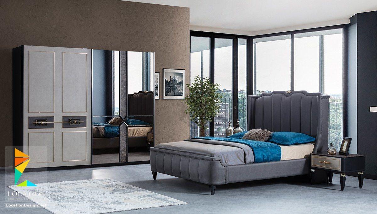 غرف نوم عرسان مودرن 2019 2020 Bed Furniture Design Bedroom Bed Design Living Room Sofa Design