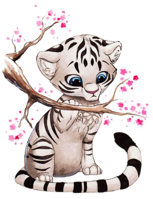 Tigre Amoureux Chat Cheveux Coiffure Couleur Elfe Facile