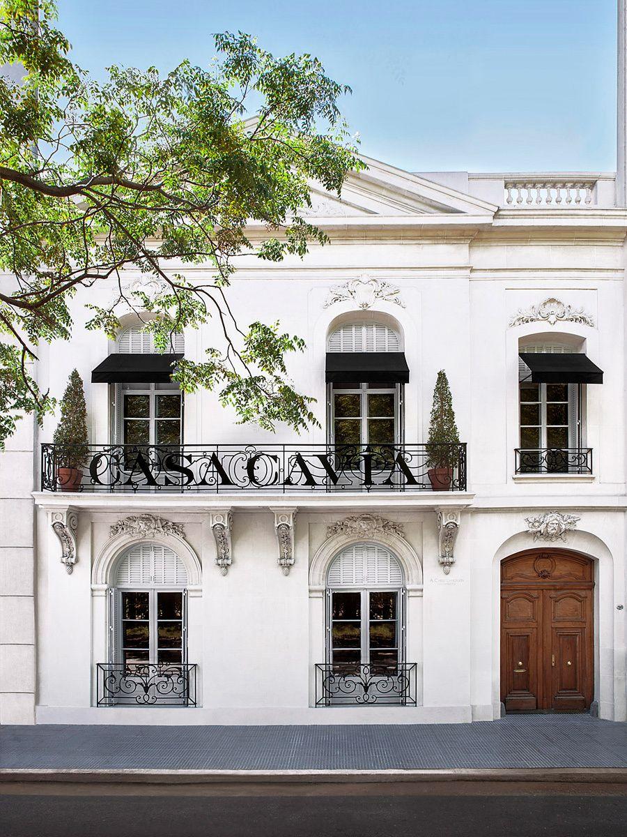 a beautiful facade in Buenos Aires