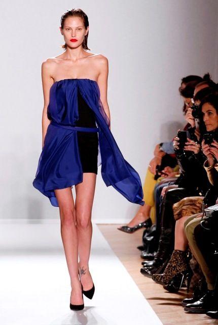 Paris Fashion Week: Barbara Bui Spring/Summer 2013.