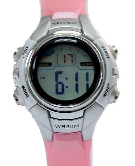 DW121I Chronograph taustavalo Musta Kehys vesitiiviit Ladies Naiset Digital Watch