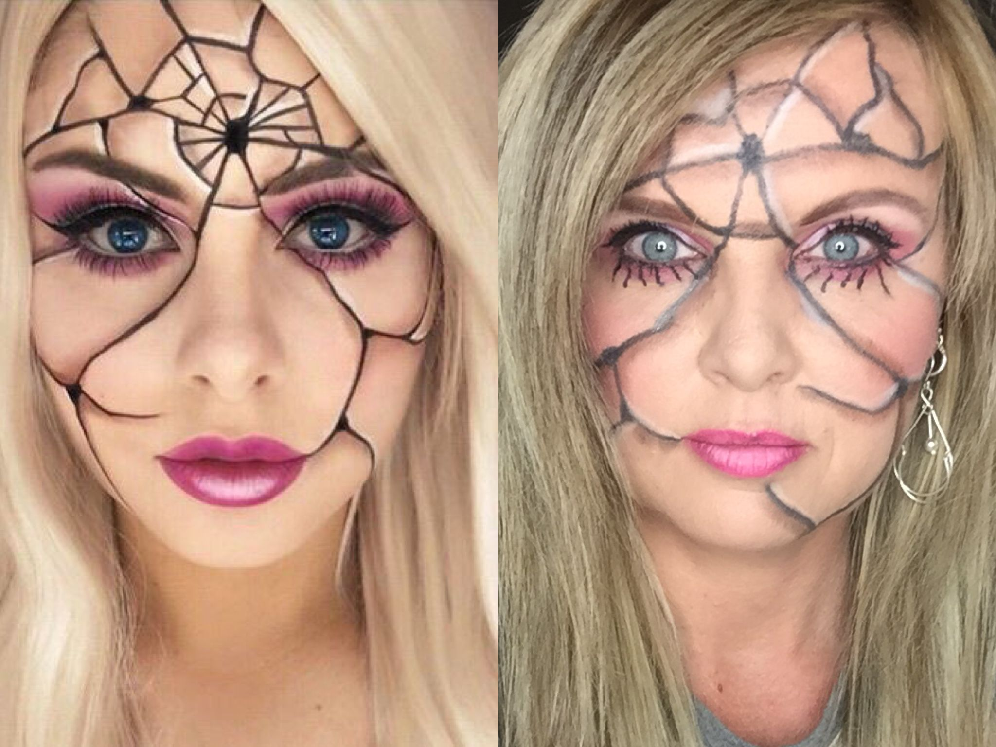 Halloween makeup ideas using All Younique products