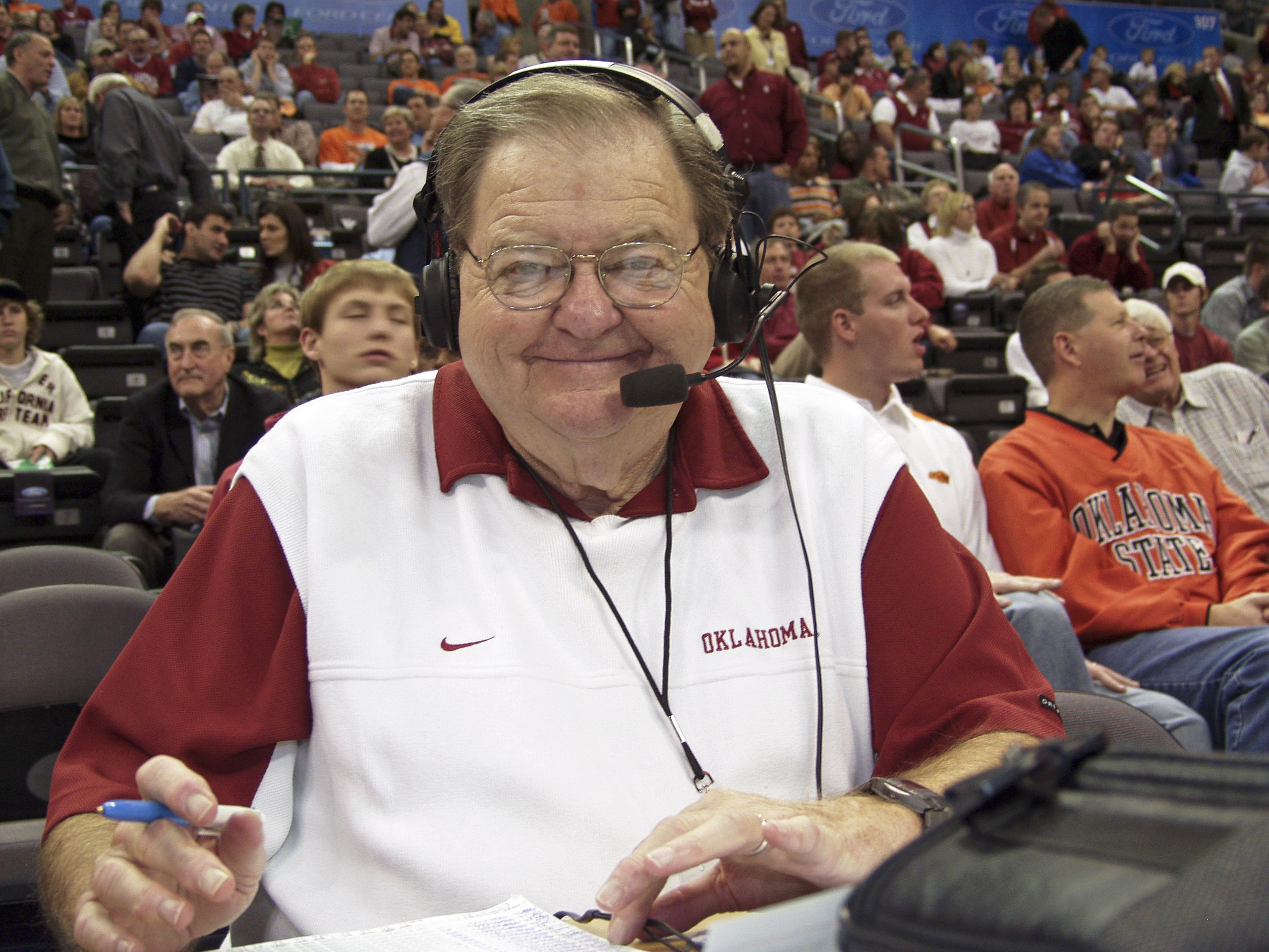 Bob Barry  Voice of the Sooners