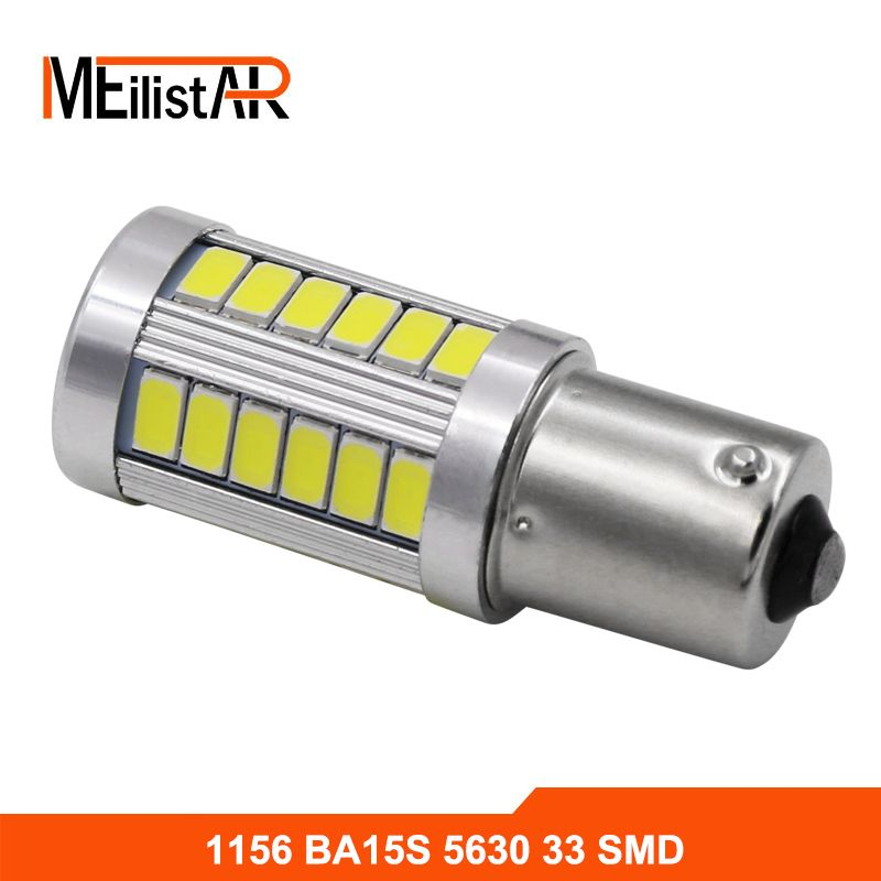 1156 P21w Ba15s 33 Led 5630 5730 Auto Brake Lights Fog Lamp Reverse Light Car Daytime Running Light White Red Yellow Car Styl With Images Running Lights Brakes Car Car Led