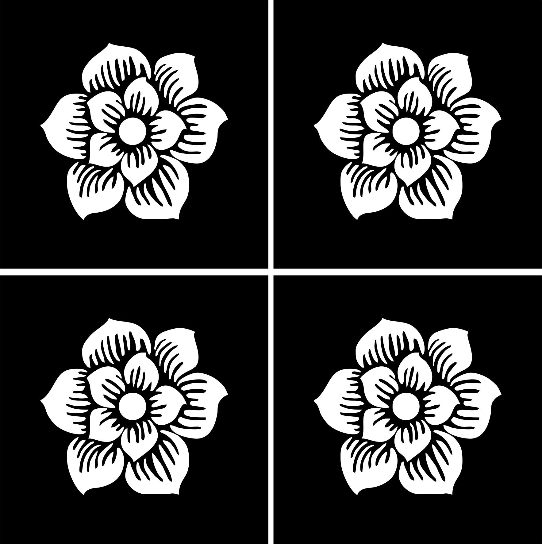 Henna Temporary Tattoo Body Art Sticker Stencil Henna
