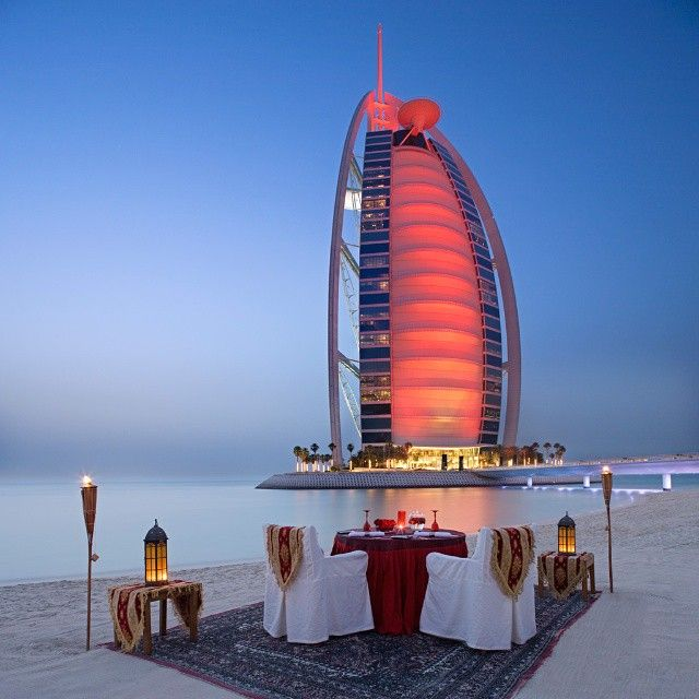 Burj al Arab Resort Location: Dubai, UAE