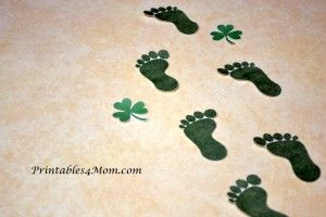 photo relating to Leprechaun Feet Printable identify Printable Leprechaun Ft for St. Patricks Working day